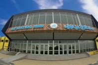 Die Eislaufhalle